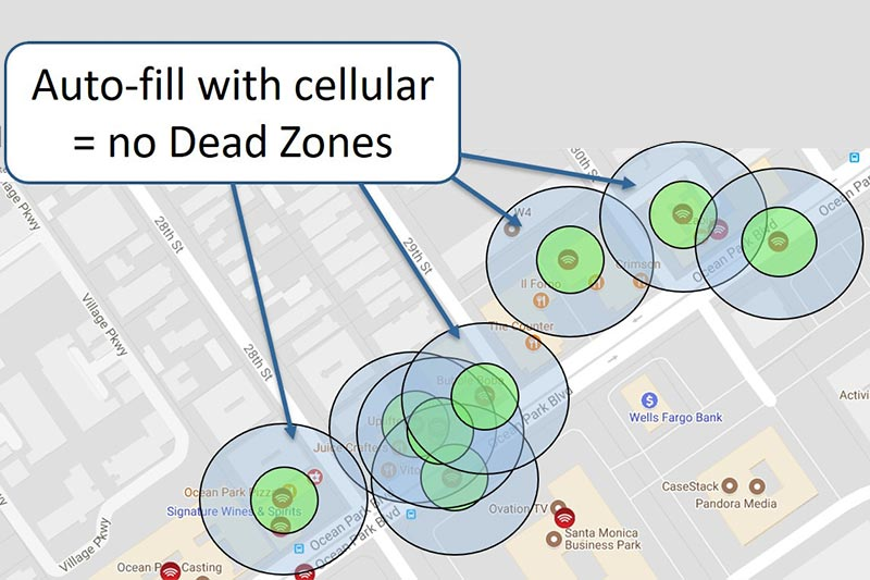 Take Users out of Dead Zones